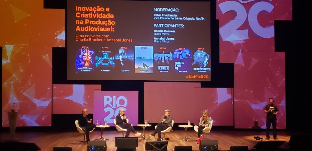 Rio 2C 2019 - Produtores de Black Mirror falam à Revista Ambrosia sobre influências da série | Destaques | Revista Ambrosia