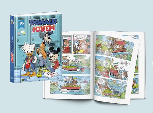 Culturama lança a HQ Donald Jovem | Quadrinhos | Revista Ambrosia
