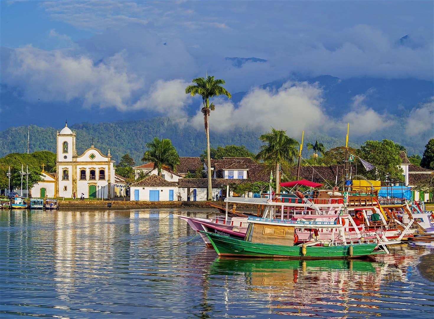Paraty se torna o primeiro sítio misto do Patrimônio Mundial no Brasil   Notícias   Revista Ambrosia