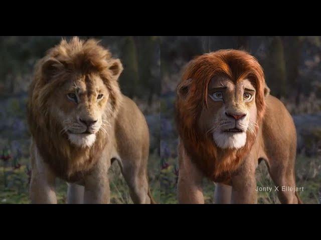 O Rei Leão - Como ficaria o remake com os animais expressivos?   Filmes   Revista Ambrosia