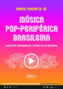 Música Pop-Periférica Brasileira (capa) - Simone Pereira de Sá